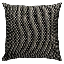Black & White York Cotton Cushion