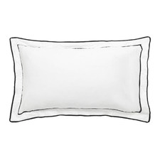 Grosgrain Tailored Egyptian Cotton Standard Pillowcases (Set of 2)