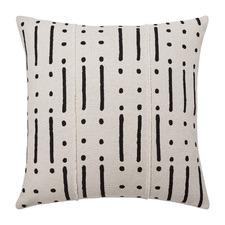 Kuba Onyx Cotton Cushion