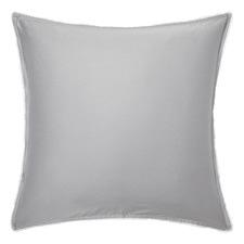 Soft Grey Casa Cotton European Pillowcase