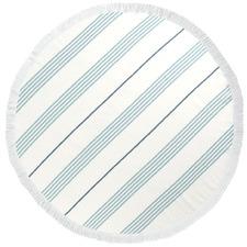Mediterranean Turkish Cotton Round Towel