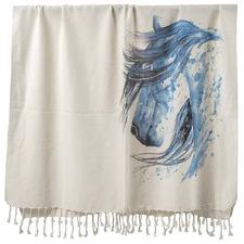 Horse Spirit Animal Turkish Cotton Towel