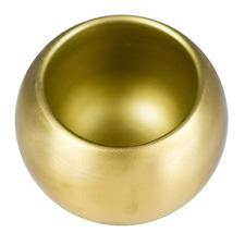Metal Sphere Salt Holder