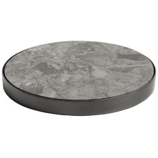 Geo Metal & Marble Coasters (Set of 4)