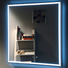 Andrea Square Framed Backlit Wall Mirror