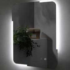 Dolce Rectangular Backlit Wall Mirror