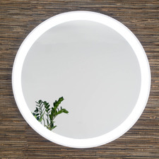 Remusa Round Backlit Wall Mirror
