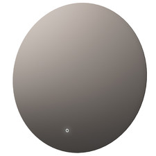 Round Backlit Mirror with Demister