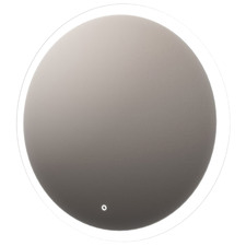 Round Frontlit Mirror with Demister