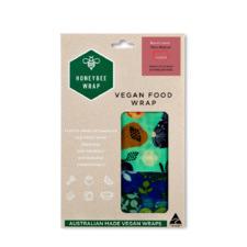 The Vegan Munch Lunch Medium Beeswax Wraps