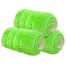 Green Z4 Replacement Mop Cloth Pads (Set of 3)