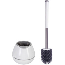 B5 Round Toilet Brush & Holder Set
