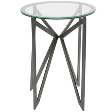 Grayson Glass Bedside Table