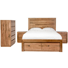 Hastings Wooden Queen Bedroom Suite Set