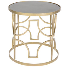 Gold Hayley Bedside Table