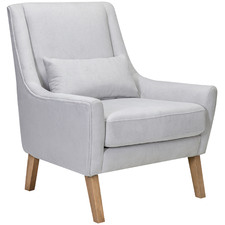 Mist Zoe Upholstered Accent Armchair