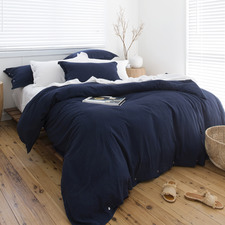 Indigo Loom Bamboo & Cotton Quilt Cover Set