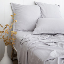Ash Jacquet Bamboo & Cotton Sheet Set