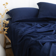 Indigo Loom Bamboo & Cotton Sheet Set