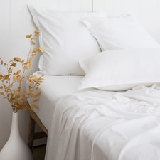 White Loom Bamboo & Cotton Sheet Set