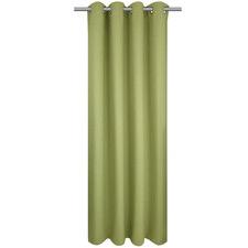 Lime Bowen Single Panel Eyelet Curtain