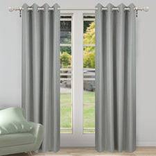 Ash Porter Single Panel Eyelet Curtain