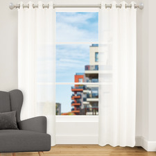 Pearl Urban Single Panel Eyelet Curtain