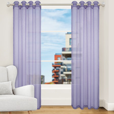Violet  Urban Single Panel Eyelet Curtain