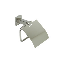 Quadro Stainless Steel Toilet Roll Holder