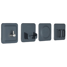 4 Piece Tile Series Toiletries Holder Set