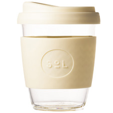 Coastal Cream 354ml Glass Cup