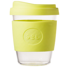 Yummy Yellow 354ml Glass Cup