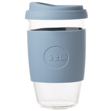 Blue Stone 473ml Glass Cup