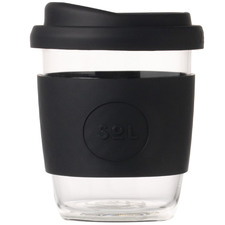 Basalt Black 236ml Glass Cup