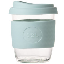 Cool Cyan 236ml Glass Cup