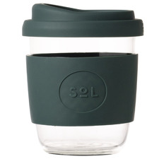 Deep Sea Green 236ml Glass Cup