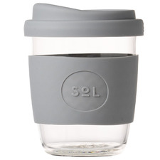 Cool Grey 236ml Glass Cup
