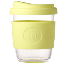 Yummy Yellow 236ml Glass Cup