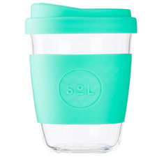 Mighty Mint 354ml Glass Cup