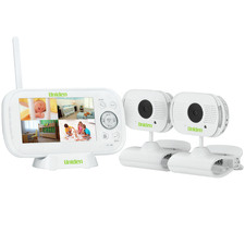 BW3102 Wireless Baby Video Monitor with 2 Clamp Cameras