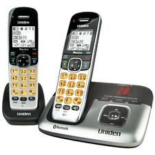 DECT3236+1 Cordless Phone System with Bluetooth Answering Machine - 2 Handsets