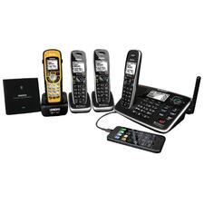 XDECT8355+3WPR USB Charding Cordless Phone System - 4 Handsets
