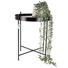 Trepo Metal & Glass Side Table