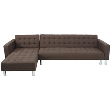 Brown Ultima 4 Seater Sofa Bed