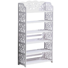 Reece 6 Tier Extra Wide Hollow Shoe Cabinet