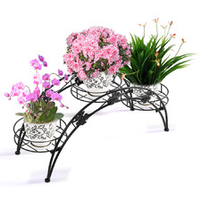 Decor Arch Wrought Iron Flower Rack
