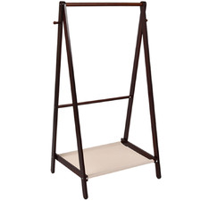Poppy Foldable Wooden Clothes Rack