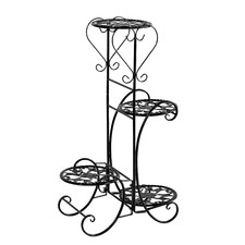 Parks 4 Tier Metal Pot Plant Stand
