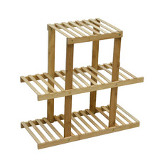 Helga 3 Tier Bamboo Storage Shelf