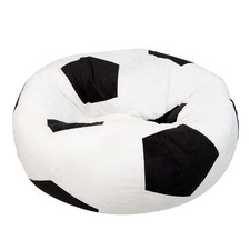 Inflatable Suede Football Bean Bag Cover